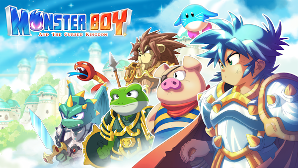 test  monster boy and the cursed kingdom