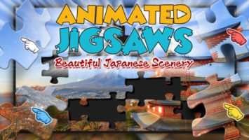 Animated Jigsaws: Beautiful Japanese Scenery
