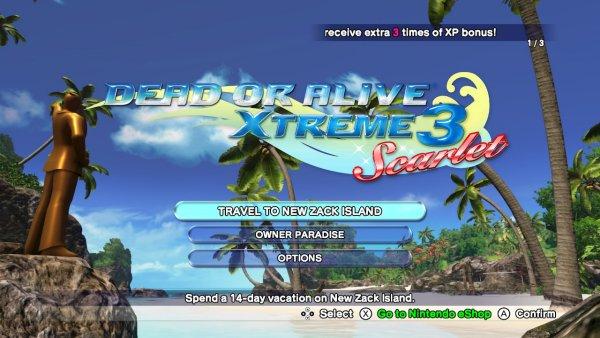 Dead or ALive Xtreme 3 Scarlet