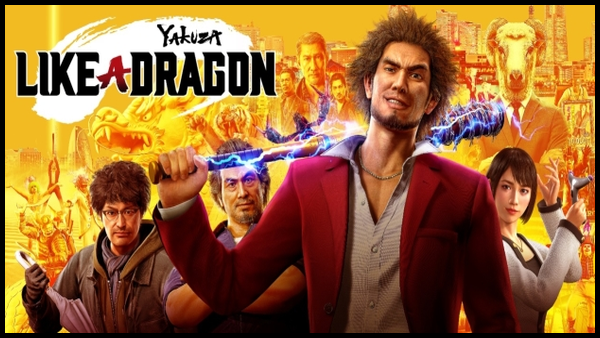 Yakuza dragon